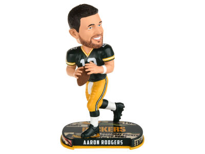 Green Bay Packers Aaron Rodgers Headline Bobblehead