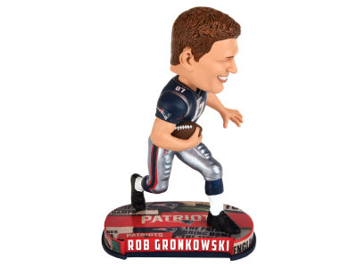 New England Patriots Rob Gronkowski Forever Collectibles Headline Bobblehead