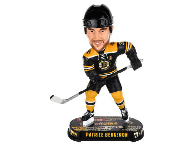 Boston Bruins Patrice Bergeron Forever Collectibles Headline Bobblehead