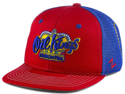 Edmonton Oil Kings Zephyr WHL Kids Screenplay Snapback Cap