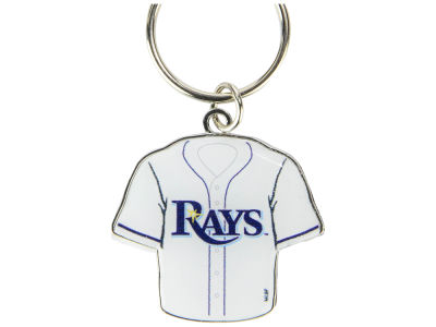 Tampa Bay Rays Jersey Spinner Keychain
