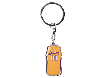 Los Angeles Lakers Forever Collectibles Jersey Spinner Keychain
