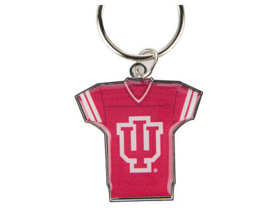 Indiana Hoosiers Jersey Spinner Keychain