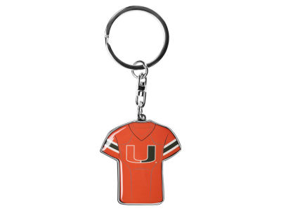 Miami Hurricanes Forever Collectibles Jersey Spinner Keychain