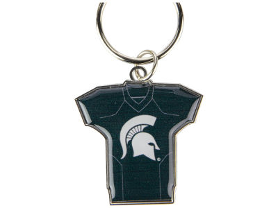 Michigan State Spartans Jersey Spinner Keychain