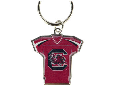 South Carolina Gamecocks Jersey Spinner Keychain