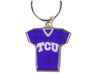 Texas Christian Horned Frogs Jersey Spinner Keychain