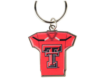 Texas Tech Red Raiders Jersey Spinner Keychain