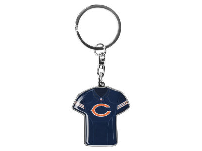 Chicago Bears Jersey Spinner Keychain