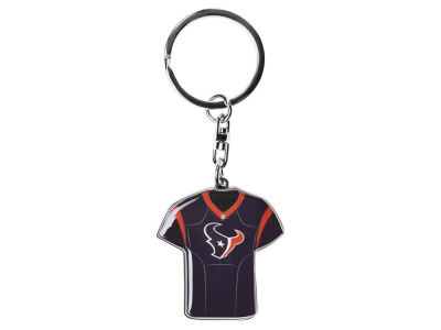 Houston Texans Forever Collectibles Jersey Spinner Keychain