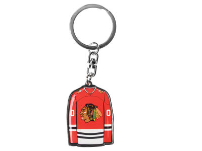 Chicago Blackhawks Jersey Spinner Keychain