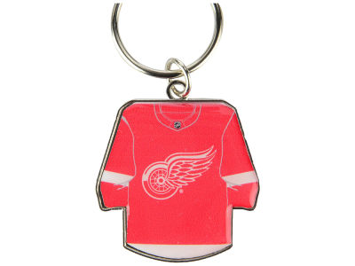 Detroit Red Wings Jersey Spinner Keychain