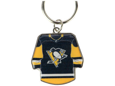 Pittsburgh Penguins Jersey Spinner Keychain