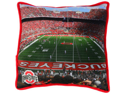 Ohio State Buckeyes Printed Stadium Pillow