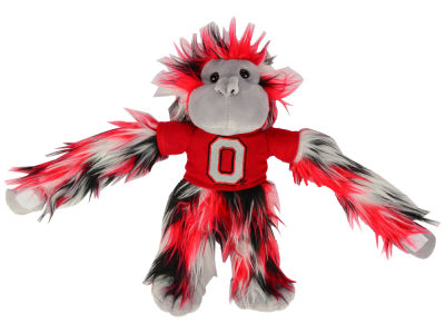 Ohio State Buckeyes Fluffy Monkey