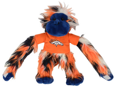 Denver Broncos Fluffy Monkey