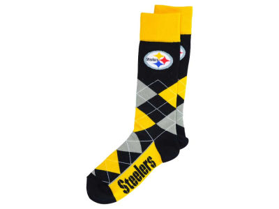 Pittsburgh Steelers Argyle Dress Socks