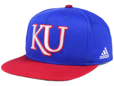 Kansas Jayhawks adidas NCAA March Madness Snapback Cap