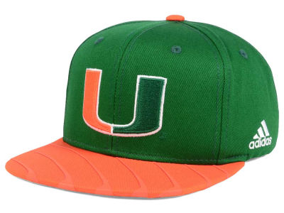 Miami Hurricanes adidas NCAA March Madness Snapback Cap