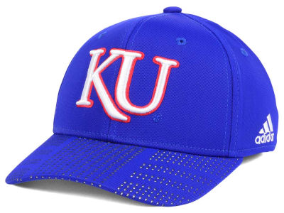 Kansas Jayhawks adidas NCAA March Madness Flex Cap