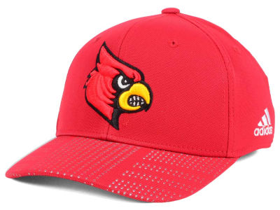 Louisville Cardinals adidas NCAA March Madness Flex Cap