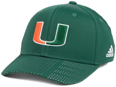 Miami Hurricanes adidas NCAA March Madness Flex Cap
