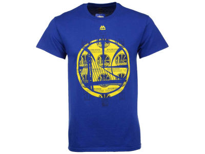 Golden State Warriors NBA 2 for $30 Majestic NBA Men's Fashion T-Shirt