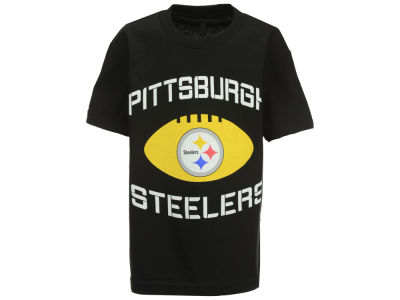 Pittsburgh Steelers Outerstuff NFL Youth Endless T-Shirt