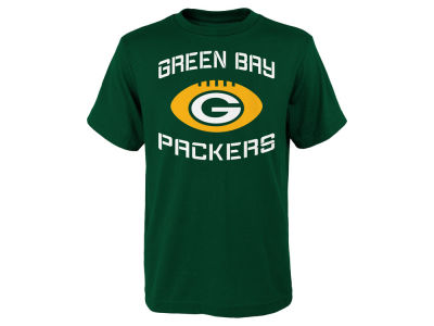 Green Bay Packers Outerstuff NFL Youth Endless T-Shirt