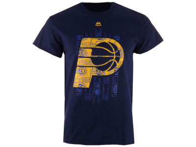 Indiana Pacers Majestic NBA Men's Fashion T-Shirt