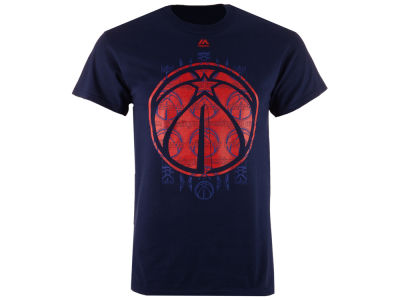 Washington Wizards Majestic NBA Men's Fashion T-Shirt