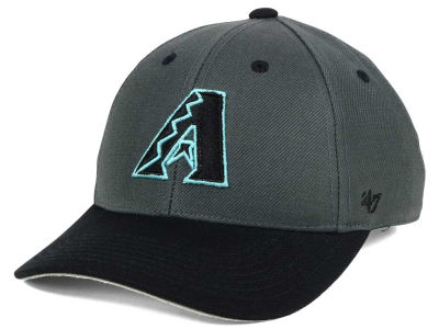 Arizona Diamondbacks '47 MLB Kids 2-Tone Charcoal/Black '47 MVP Cap