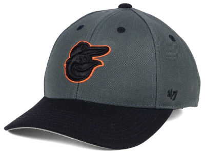 Baltimore Orioles '47 MLB Kids 2-Tone Charcoal/Black '47 MVP Cap