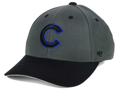 Chicago Cubs '47 MLB Kids 2-Tone Charcoal/Black '47 MVP Cap