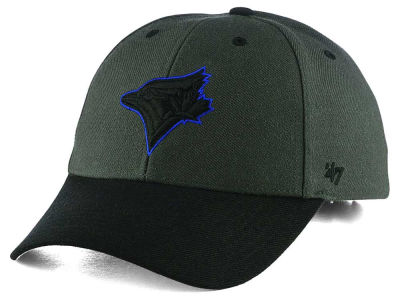 Toronto Blue Jays '47 MLB Kids 2-Tone Charcoal/Black '47 MVP Cap