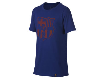FC Barcelona Nike Club Team Youth Crest T-Shirt