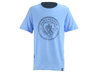 Manchester City Nike Club Team Youth Crest T-Shirt