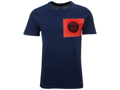 Paris Saint-Germain Nike Men's Club Team Crest Logo T-Shirt
