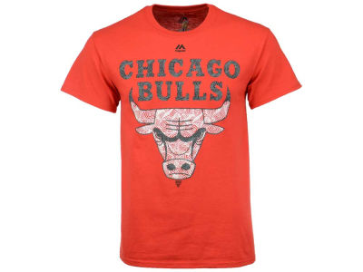 Chicago Bulls Majestic NBA Men's Fashion T-Shirt