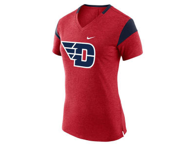 Dayton Flyers NCAA Women's Fan V Top T-Shirt