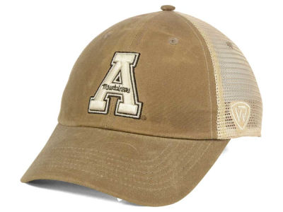 Appalachian State Mountaineers Top of the World NCAA Mudd 2 Tone Mesh Cap