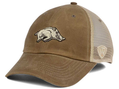 Arkansas Razorbacks Top of the World NCAA Mudd 2 Tone Mesh Cap
