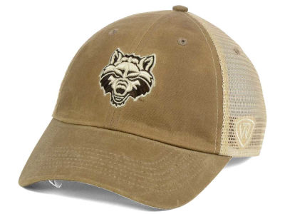 Arkansas State Red Wolves Top of the World NCAA Mudd 2 Tone Mesh Cap