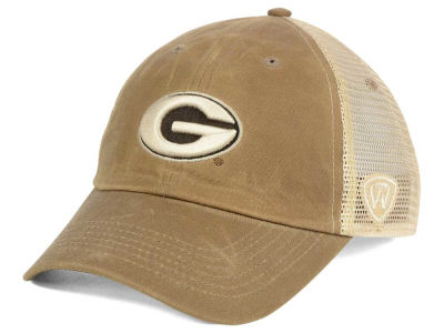 Georgia Bulldogs Top of the World NCAA Mudd 2 Tone Mesh Cap