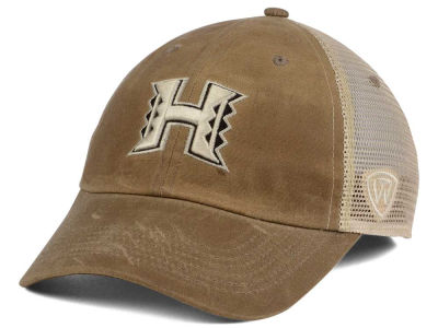 Hawaii Warriors Top of the World NCAA Mudd 2 Tone Mesh Cap