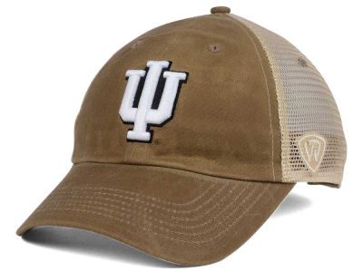 Indiana Hoosiers Top of the World NCAA Mudd 2 Tone Mesh Cap