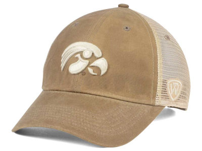 Iowa Hawkeyes Top of the World NCAA Mudd 2 Tone Mesh Cap