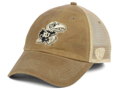 Kansas Jayhawks Top of the World NCAA Mudd 2 Tone Mesh Cap