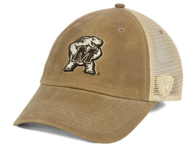 Maryland Terrapins Top of the World NCAA Mudd 2 Tone Mesh Cap