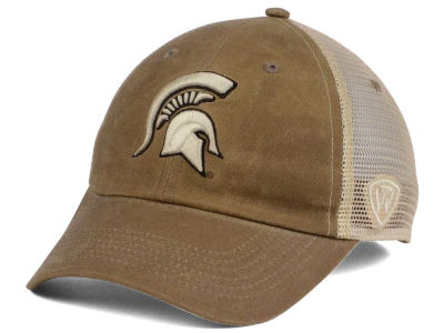 Michigan State Spartans Top of the World NCAA Mudd 2 Tone Mesh Cap